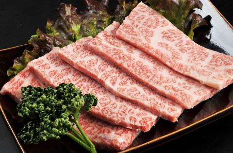 九州産黒毛和牛上カルビ 1,880円(税別)