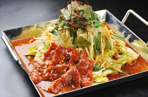 ロース&カルビ鍋 1,480円(税別)