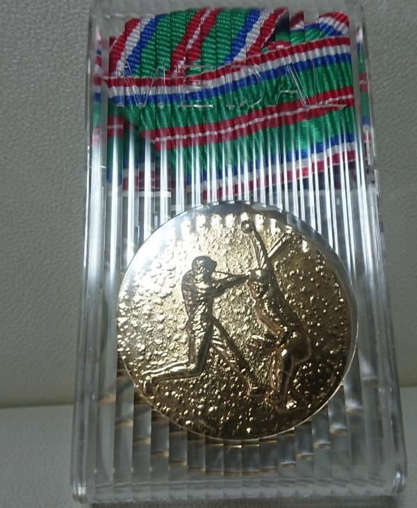 金メダル!