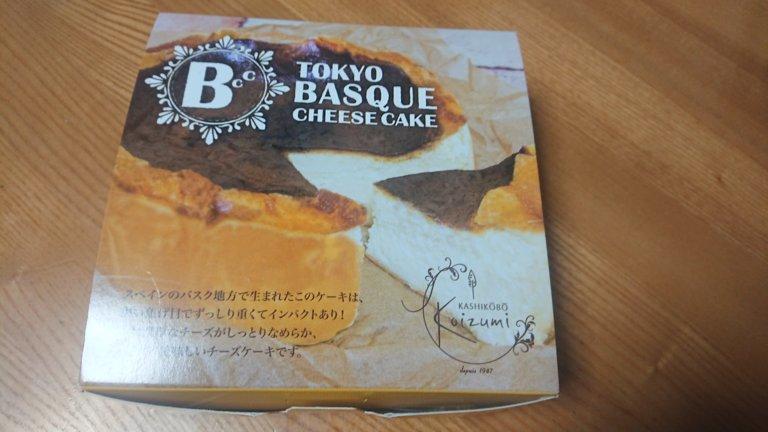 東京バスクチーズケーキ